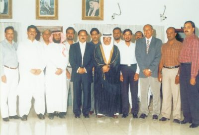 His Excellency the Consul (Royal Consulate of Saudi Arabia) with Zonal Chairmans POEPA
