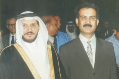 His Excellency the Consul & Syed Athar Iqbal