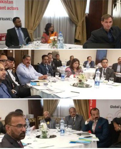 MEETING WITH INTERNATIONAL LABOUR ORGANIZATION
